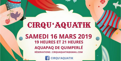Spectacle Cirqu Aquatik A Quimperle Finistere