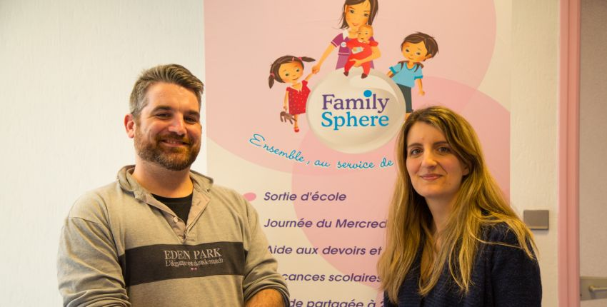 Family Sphere // La solution de garde d'enfants à domicile // Brest