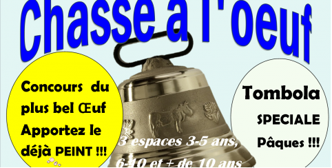 chasse aux oeufs Gouesnac'h